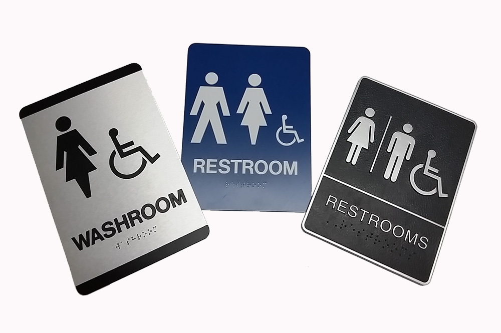 Washroom Signs