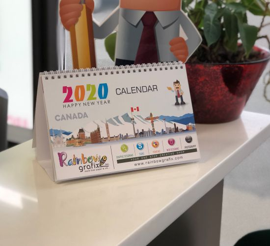 Customized Table/Desk Calendars