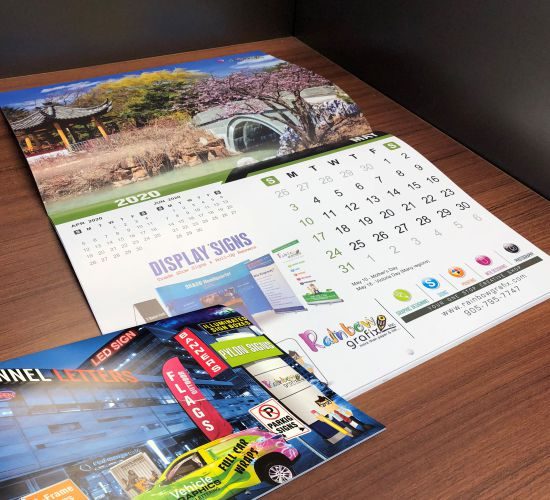 Customized Wall Calendars