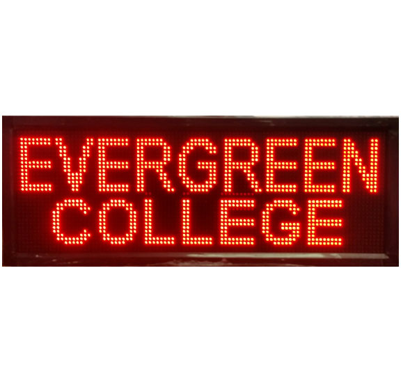 One Color LED Sign